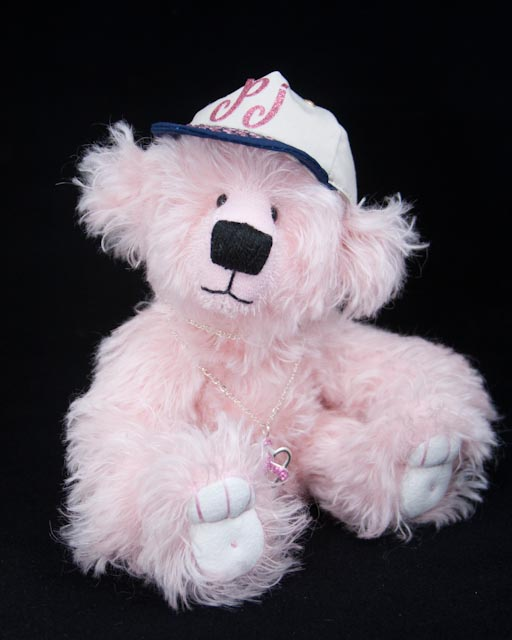 I created this bear in honor of my dear friend, Pat Wesling.